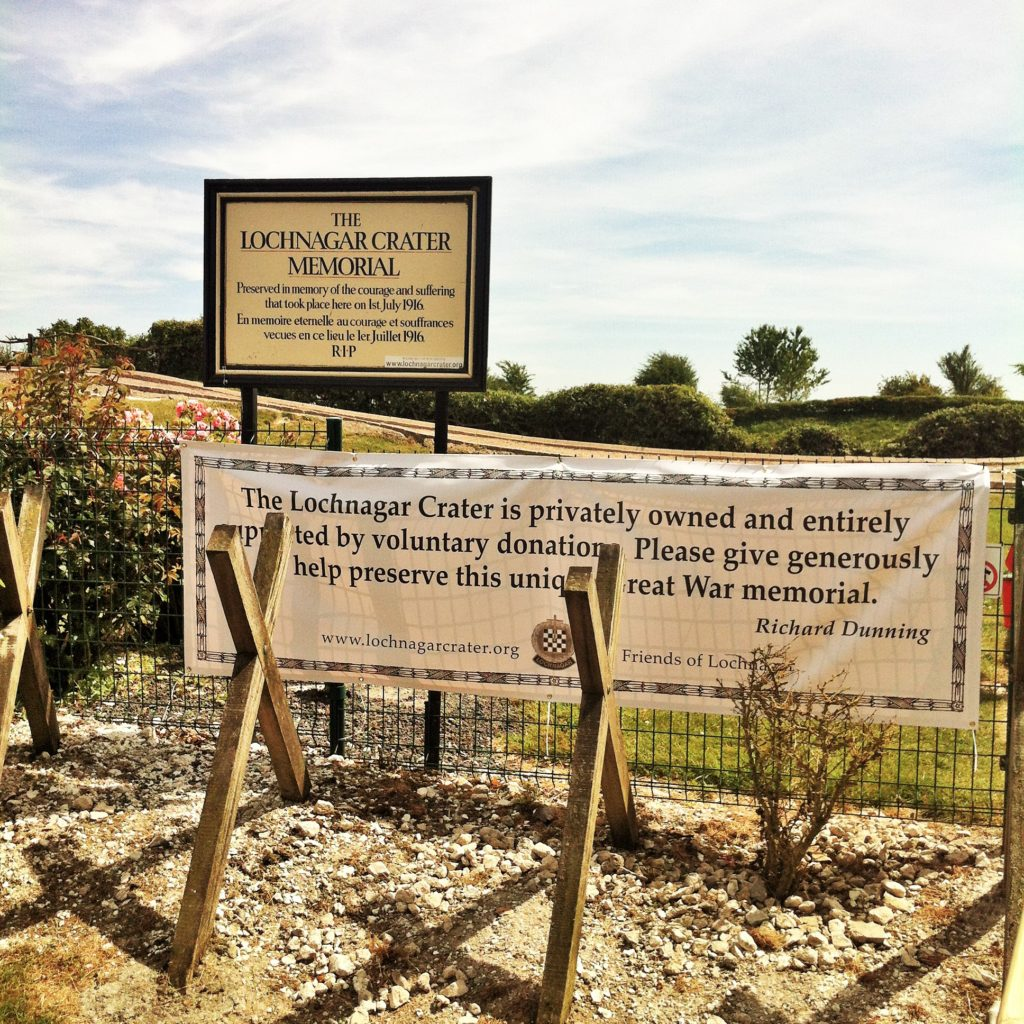 News from the Front: Lochnagar Crater
